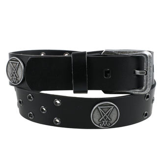 Luciferi Öv - Black, Leather & Steel Fashion