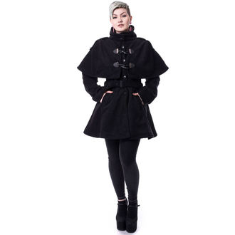 Poizen Industries női kabát - GHOST TOWN - FEKETE - POI420