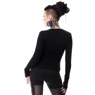 POIZEN INDUSTRIES Női pulóver - GRAB HER - FEKETE, POIZEN INDUSTRIES