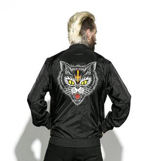 tavaszi/őszi dzseki unisex - Hell Cat - BLACK CRAFT, BLACK CRAFT