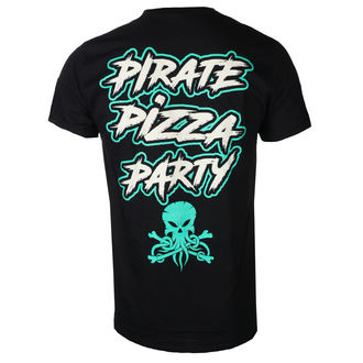 ALESTORM Férfi póló - PIRATE PIZZA PARTY - PLASTIC HEAD, PLASTIC HEAD, Alestorm