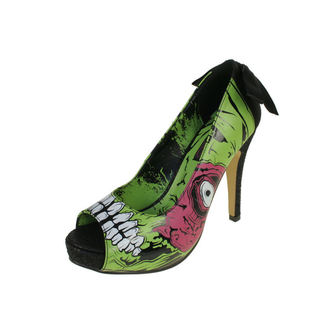 magassarkú cipő női - Zombie Stomper Platform - IRON FIST - IFW0005227-Green
