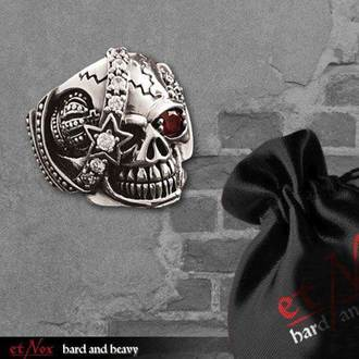 ETNOX gyűrű - Machine Skull 2