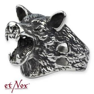 ETNOX gyűrű - Wolf Head, ETNOX