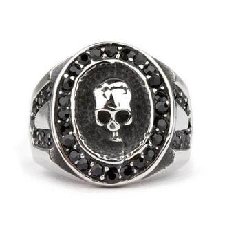 ETNOX gyűrű - Crystal Skull, ETNOX