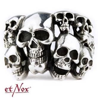 ETNOX Gyűrű - Skulls, ETNOX