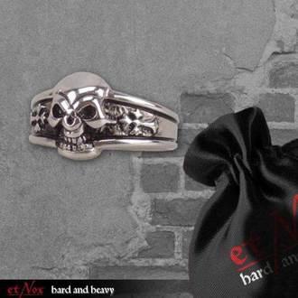 ETNOX gyűrű - Dark Skull, ETNOX