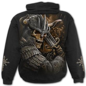 kapucnis pulóver férfi - VIKING WARRIOR - SPIRAL, SPIRAL