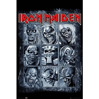 IRON MAIDEN Poszter - GB posters, GB posters, Iron Maiden