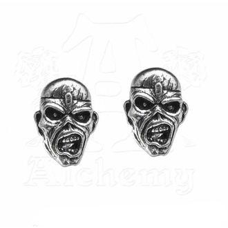 Iron Maiden Fülbevaló - Eddie Head - ALCHEMY GOTHIC, ALCHEMY GOTHIC, Iron Maiden