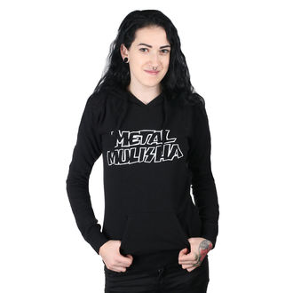 kapucnis pulóver női - SQUAD PO BLK - METAL MULISHA, METAL MULISHA