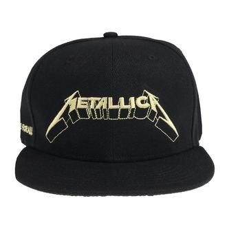 Metallica Sapka - Justice Glow - Fekete, NNM, Metallica