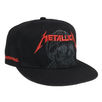 Metallica Sapka - One Justice - Fekete, NNM, Metallica