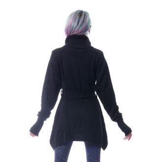 POIZEN INDUSTRIES Női pulóver - KORZANA - FEKETE, POIZEN INDUSTRIES