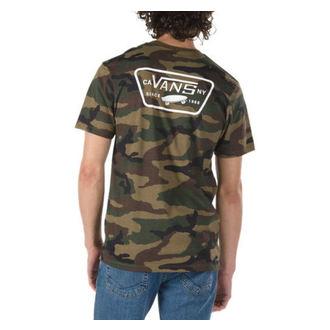 tričko pánské VANS - FULL PATCH BACK S - Camo/White, VANS