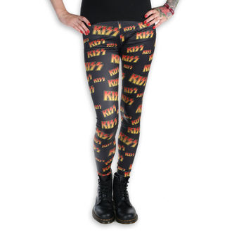KISS női leggings- LOGO - PLASTIC HEAD, PLASTIC HEAD, Kiss