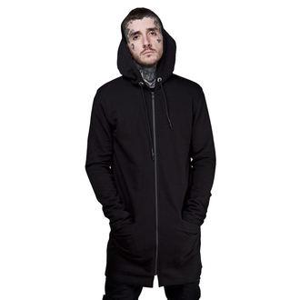 kapucnis pulóver férfi - Longline - DISTURBIA, DISTURBIA