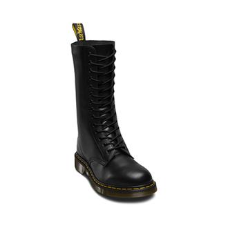 Dr. Martens Cipőfűző - 210cm (12-14x fűzőlyuk) - Fekete, Dr. Martens