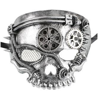 ZOELIBAT maszk - Steampunk-Halbmaske Skull, ZOELIBAT