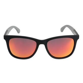 Napszemüveg MEATFLY - KUPLUNG A 4/17/55 - FEKETE / SZÜRKE, MEATFLY