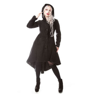POIZEN INDUSTRIES Női kabát - MEMORIAL - FEKETE, POIZEN INDUSTRIES