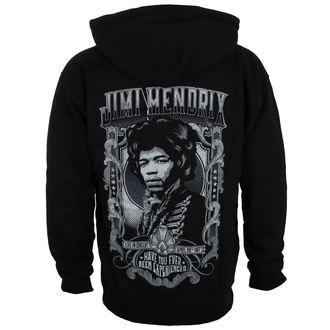 kapucnis pulóver férfi Jimi Hendrix - HENDRIX AUTHENTC - BRAVADO, BRAVADO, Jimi Hendrix