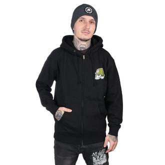 kapucnis pulóver férfi - IKON BLK - METAL MULISHA, METAL MULISHA