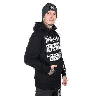 kapucnis pulóver férfi - CRATE BLK - METAL MULISHA, METAL MULISHA