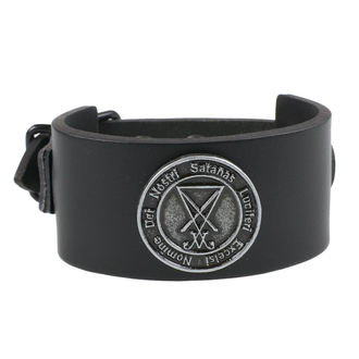 Luciferi Karkötő - Black, Leather & Steel Fashion