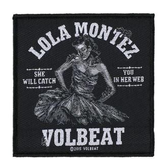 VOLBEAT Felvarró - LOLA MONTEZ - RAZAMATAZ, RAZAMATAZ, Volbeat