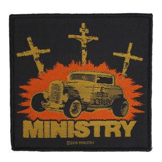Ministry Felvarró - Jesus Built My Hotrod - RAZAMATAZ, RAZAMATAZ, Ministry