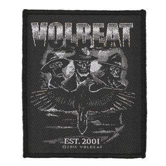 VOLBEAT felvarró - OUTLAW RAVEN - RAZAMATAZ, RAZAMATAZ, Volbeat