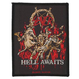 SLAYER felvarró - HELL AWAITS - RAZAMATAZ, RAZAMATAZ, Slayer
