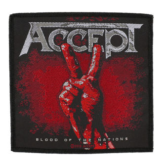ACCEPT felvarró - BLOOD OF THE NATIONS - RAZAMATAZ, RAZAMATAZ, Accept