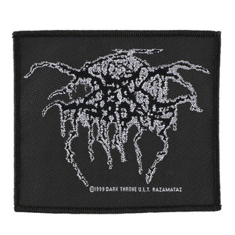 DARKTHRONE felvarró - LUREX LOGO - RAZAMATAZ, RAZAMATAZ, Darkthrone
