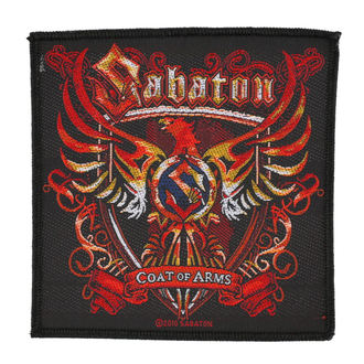 SABATON felvarró - COAT OF ARMS - RAZAMATAZ, RAZAMATAZ, Sabaton