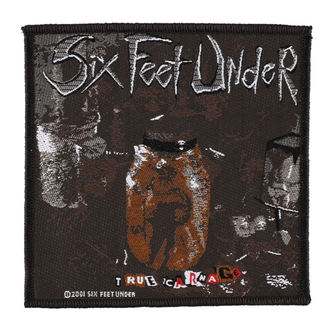 SIX FEET UNDER felvarró - TRUE CARNAGE - RAZAMATAZ, RAZAMATAZ, Six Feet Under