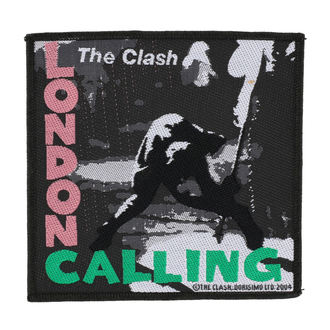 THE CLASH felvarró - LONDON CALLING - RAZAMATAZ, RAZAMATAZ, Clash