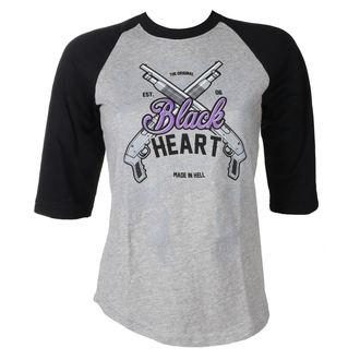 utcai póló női - BH SHOT GUN - BLACK HEART, BLACK HEART