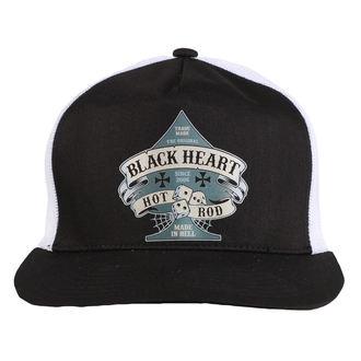 BLACK HEART sapka - BELL - FEHÉR, BLACK HEART