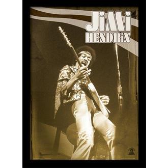 Jimi Hendrix Keretezett poszter - Live - PYRAMID POSTERS, PYRAMID POSTERS, Jimi Hendrix