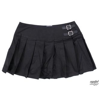 szoknya női Black Pistol - Buckle Mini Denim - Black - B-2-48-001-00