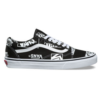 boty VANS - UA Old Skool - (LOGO MIX) - BLACk, VANS