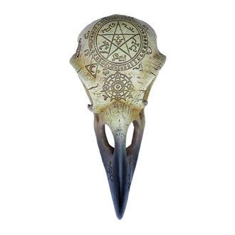 ALCHEMY GOTHIC Dekoráció - Omega Raven Skull, ALCHEMY GOTHIC