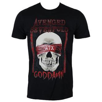 metál póló férfi Avenged Sevenfold - GODDAMN - PLASTIC HEAD, PLASTIC HEAD, Avenged Sevenfold