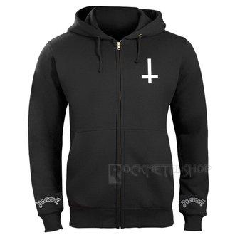 kapucnis pulóver férfi - KEEP CALM AND BURN CHURCHES - AMENOMEN, AMENOMEN