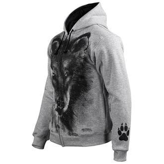 kapucnis pulóver férfi - Wolf - ALISTAR, ALISTAR
