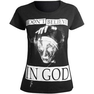 hardcore póló női - I DON'T BELIEVE IN GOD - AMENOMEN, AMENOMEN