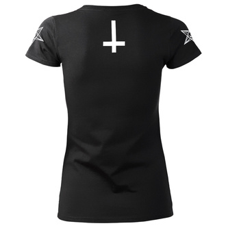 hardcore póló női - SATAN IS REAL - AMENOMEN, AMENOMEN