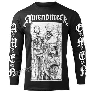 hardcore póló férfi - POPE AND DEATH - AMENOMEN, AMENOMEN